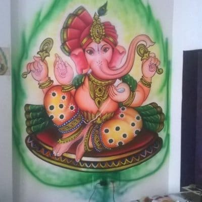 2D Designs Wall Design Painting