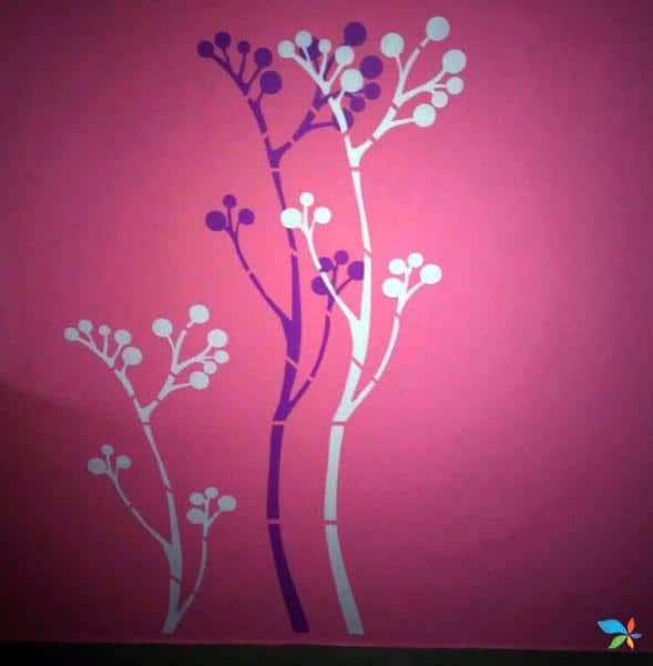 Stencil Work Gallery – Paint Decors – Painting Contractor