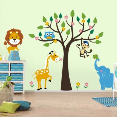 Kids Rooms Wall Design Painting