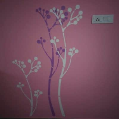 Stencil Works PD1 Wall Design Painting