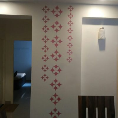 Stencil Works PD4 Wall Design Painting