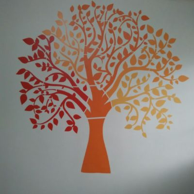 Stencil Works PD7 Wall Design Painting