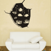 Fish on place - Artwork wall painting
